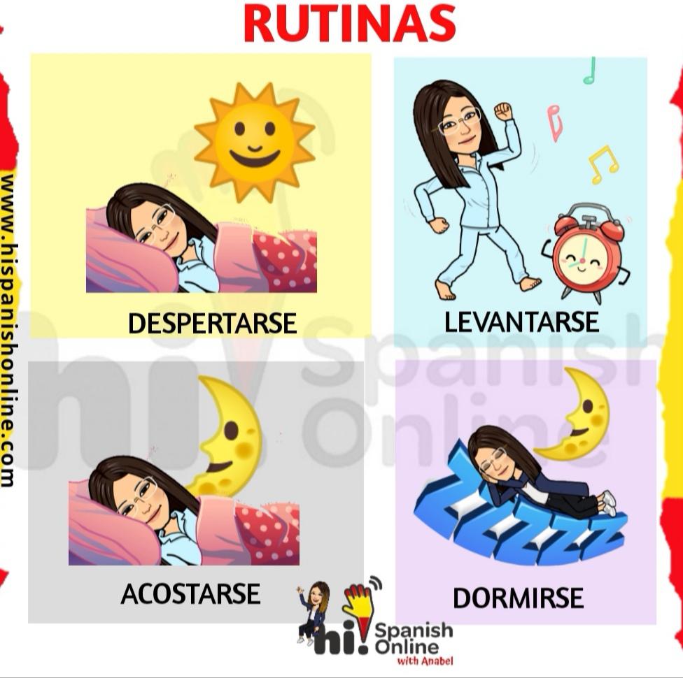 Rutinas en español